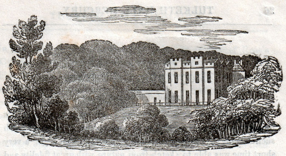 Tulketh Hall Preston in the 1840s