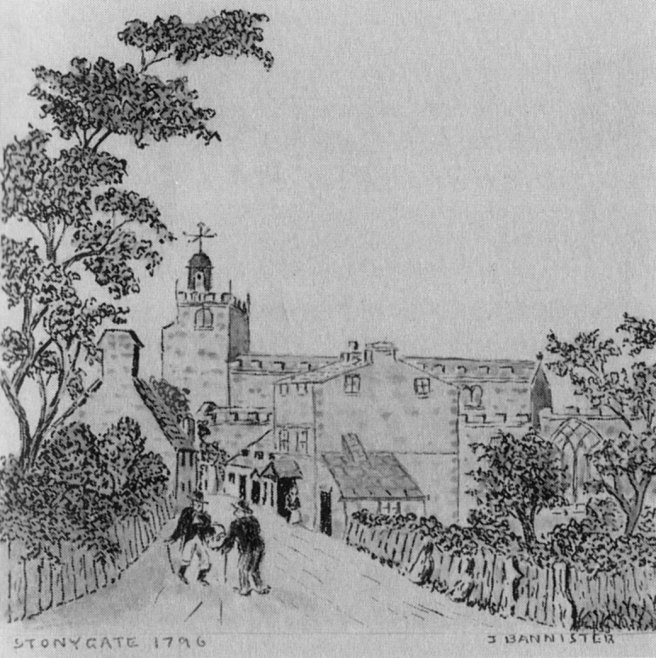 Stonygate in 1796