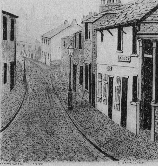 Stonygate Preston c. 1930