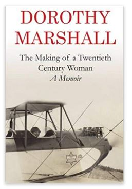 Cover of Preston Park School historian Dorothy Marshall's autobiography