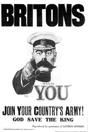 Kitchener Great War poster