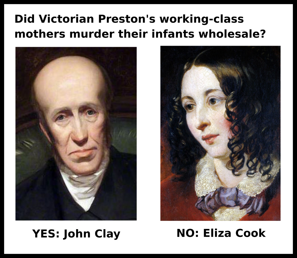 John Clay and Eliza Cook infanticided opponents