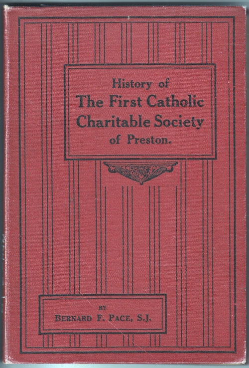 Preston Catholic Charity book cover
