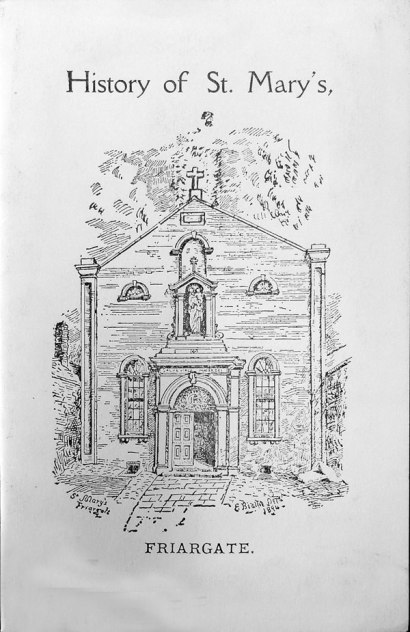 Front cover of History of St Mary's