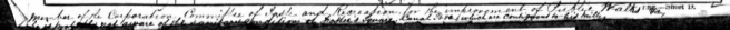 Section of Preston 1861 census return