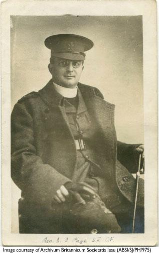 Bernard Page - Jesuit priest