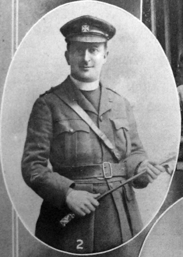 Fr Bernard Page in his army chaplain's uniform