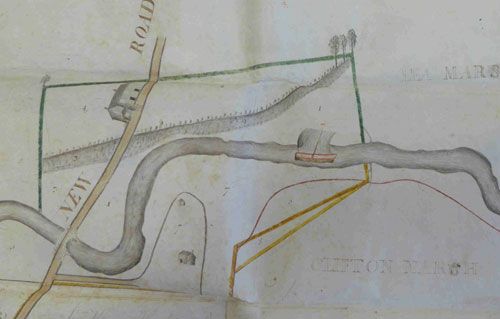 Plan of Savock navigation Preston
