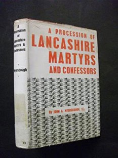 Front cover of A procession of Lancashire martyrs and confessors by Fr. John Myerscough