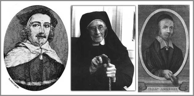 Composite image of Alexander Rigby, Mother Mary Cephas and Isaac Ambrose