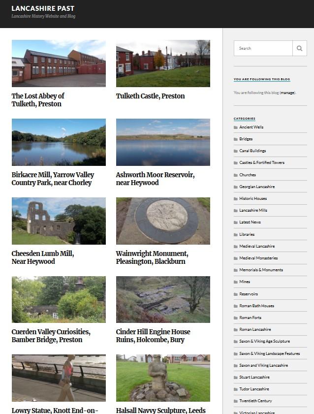 Lancashire Past website