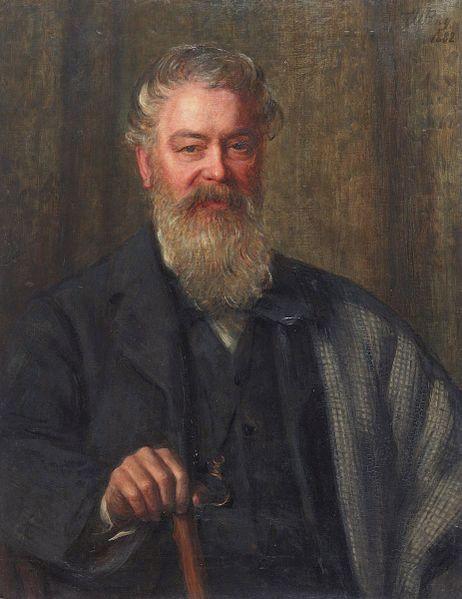 Portrait of Edwin Waugh
