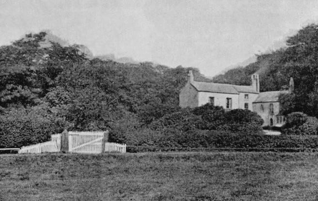 Fishwick Hall, Lancashire c.1890.
