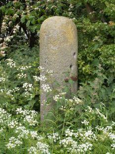 Roman mileston at Cabus, Lancashire