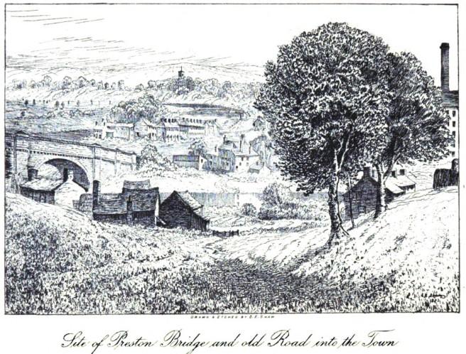 Old view of Preston Bridge